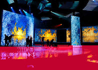 High Resolution Stage Rental LED Display Screen 5.95mm Pixel Pitch 28246 Dos/Sqm