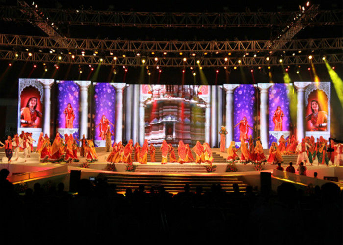 High Brightness Stage Rental LED Display P6.25mm Full Color For Indoor